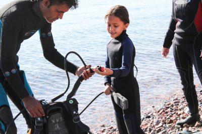 scuba diving for kids dahab