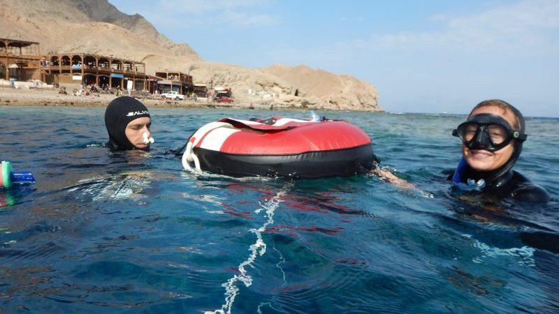 train freediving in dahab