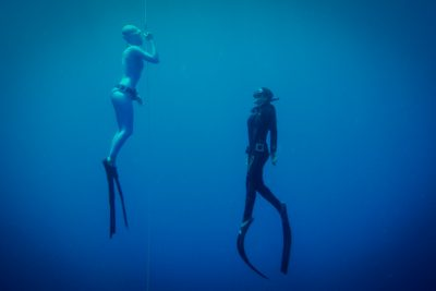 freediving training in dahab