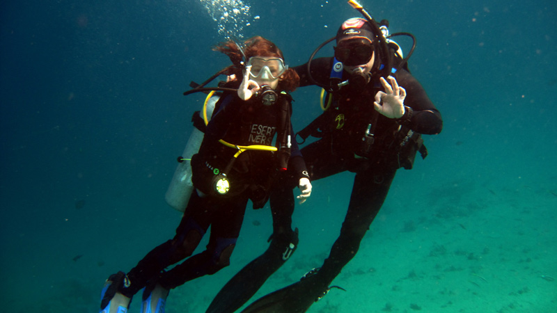 Dahab Diving Rock Climbing Trekking Freediving Desert Divers - 10 best places to learn to dive the padi way