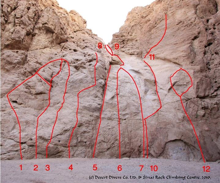 Dahab Sport Climbing - Desert Divers